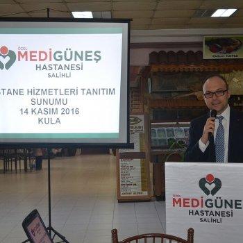 Özel Medigüneş Hastanesi Kula'da Tanıtım Yaptı