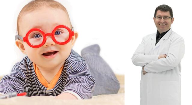 Bebeklerde çocuklarda göz kontrolü şart!