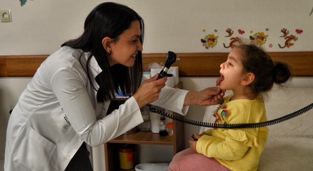 Grip salgını çocukları yatağa düşürüyor