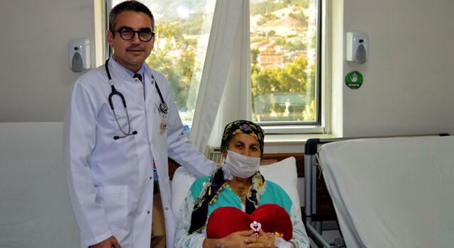 Kalbindeki 6 santimetrelik tümör Medigüneş'te çıkarıldı